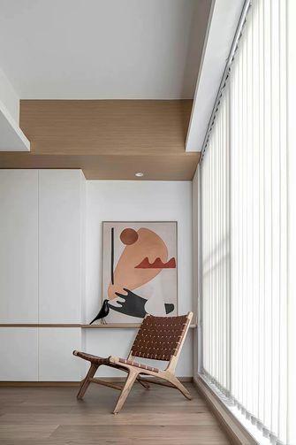富裕型130平米三室一厅现代简约风格阳台装修图片大全