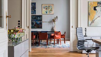 20万以上130平米三室一厅地中海风格客厅装修案例