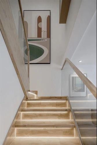 5-10万30平米小户型现代简约风格楼梯间效果图
