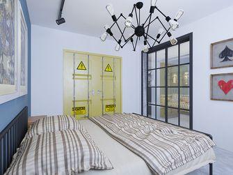 富裕型60平米公寓工业风风格卧室装修图片大全