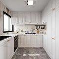 140平米四室一厅法式风格厨房效果图