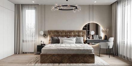轻奢风格卧室装修图片大全
