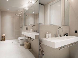 10-15万90平米三室两厅北欧风格卫生间装修案例