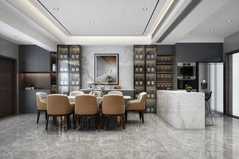 20万以上140平米复式现代简约风格餐厅装修案例