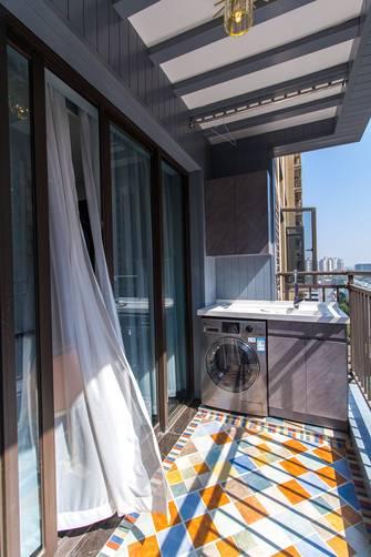 100平米三室两厅轻奢风格阳台图