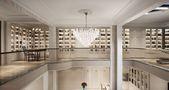 豪华型140平米别墅新古典风格书房图片大全