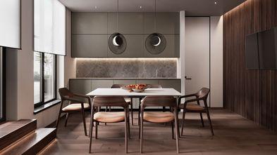 130平米三现代简约风格餐厅图片