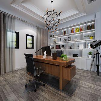 140平米别墅现代简约风格书房效果图