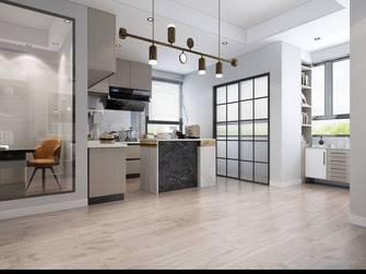 140平米三室三厅混搭风格厨房欣赏图