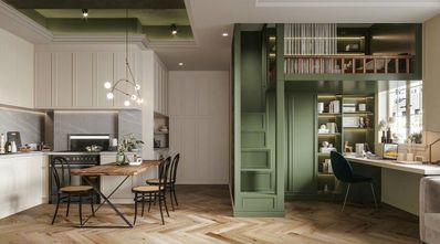 经济型70平米一室一厅法式风格餐厅装修案例
