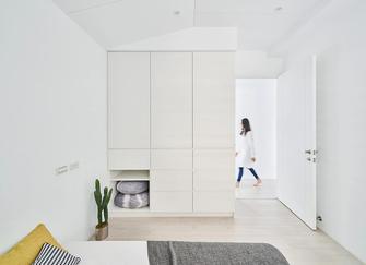 富裕型100平米三室三厅现代简约风格卧室设计图