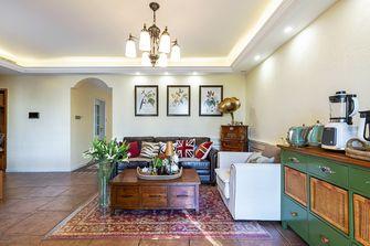 豪华型130平米三室一厅美式风格客厅效果图
