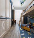 100平米三欧式风格青少年房图片