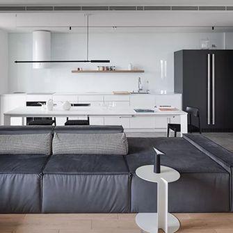 3万以下80平米公寓现代简约风格卧室图片大全