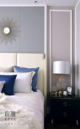 120平米三室两厅欧式风格卧室欣赏图