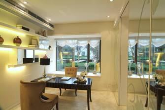 130平米三欧式风格客厅装修案例