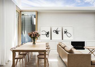 140平米田园风格餐厅设计图
