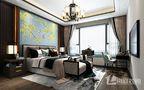 20万以上140平米别墅中式风格卧室效果图