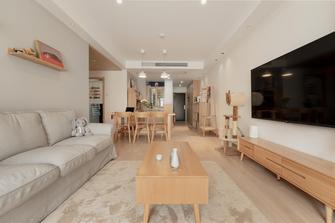 130平米四室两厅日式风格客厅装修案例