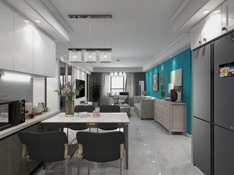 10-15万110平米三室一厅轻奢风格餐厅装修案例