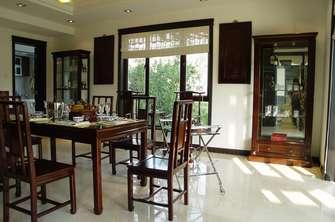 110平米四中式风格餐厅装修案例