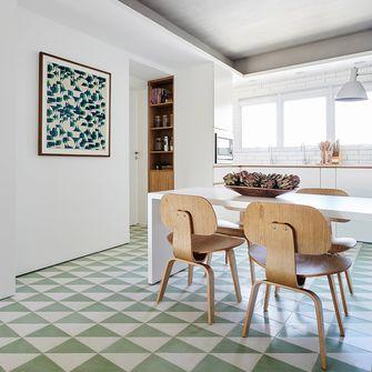 富裕型100平米四室一厅北欧风格餐厅设计图