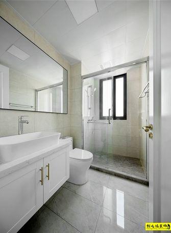 经济型三室一厅混搭风格卫生间设计图