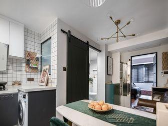 经济型50平米公寓混搭风格餐厅图片