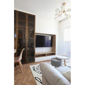 富裕型50平米现代简约风格客厅装修效果图