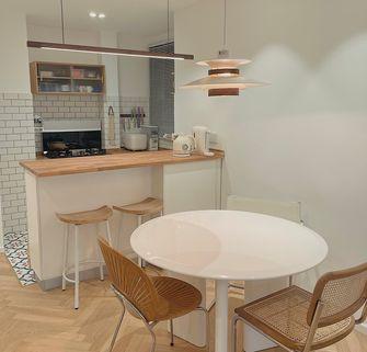经济型90平米三室两厅北欧风格餐厅装修案例