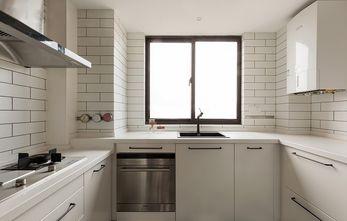 富裕型110平米三室两厅现代简约风格厨房装修效果图