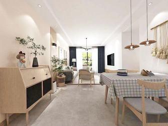 经济型90平米三室两厅日式风格客厅图片
