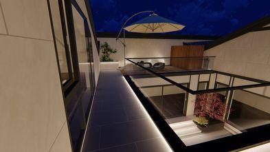 20万以上140平米别墅中式风格阳台效果图