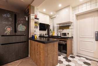 富裕型公寓混搭风格厨房图