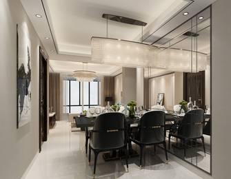 豪华型120平米一居室现代简约风格餐厅效果图