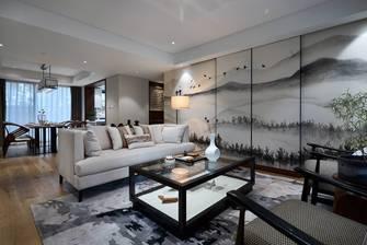 10-15万120平米三室两厅中式风格客厅欣赏图