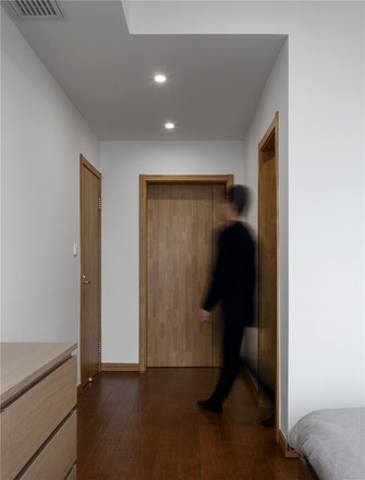 140平米三室两厅日式风格走廊效果图