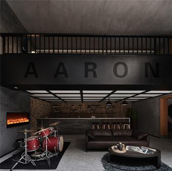 140平米别墅法式风格影音室效果图