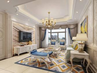 120平米一室两厅欧式风格客厅欣赏图