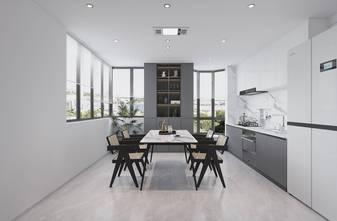 20万以上140平米复式现代简约风格厨房图片