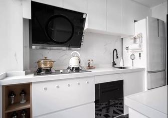 经济型60平米一室一厅现代简约风格厨房图片大全