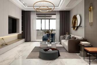 5-10万100平米三现代简约风格客厅图
