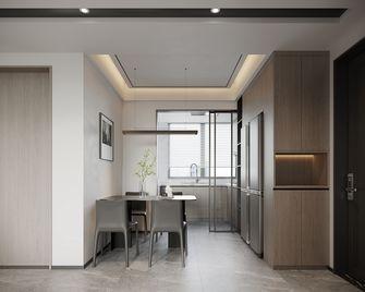 15-20万110平米三室三厅现代简约风格餐厅欣赏图