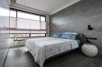 20万以上140平米四室一厅现代简约风格卧室图