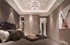 120平米三港式风格卧室设计图