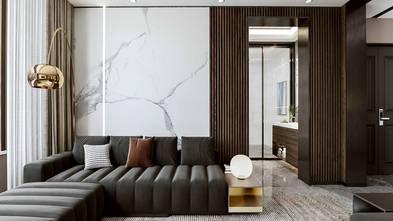 140平米四英伦风格客厅装修效果图