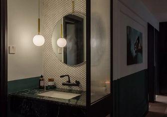 90平米三室一厅混搭风格卫生间欣赏图