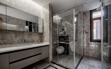 富裕型中式风格卫生间欣赏图