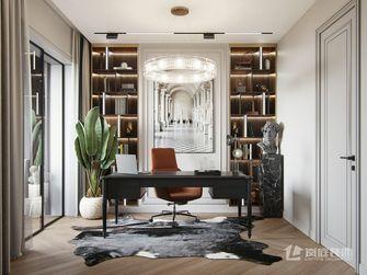 豪华型120平米三室两厅轻奢风格书房设计图