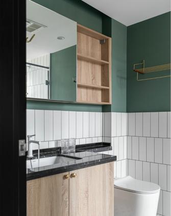 经济型90平米北欧风格卫生间装修案例